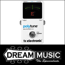 TC Electronic PolyTune 2 Guitar Effects Tuner Pedal RRP$199