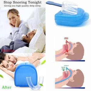 Best NHS Stop Snore Stopper Anti Snoring Tool New Mouth Guard Sleep Aid APNOEA