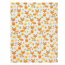 Fox Throw Blanket, Adorable Soft Fluffy Velvet Throw Blanket for Kids 50�x60� in