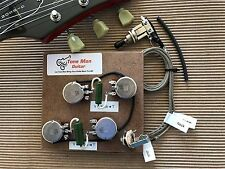 Deluxe 50's Wiring Harness - Long Shaft Pots, PIO Caps - Fits Gibson Les Paul