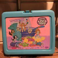 1993 Vintage Original Littlest Pet Shop Thermos Lunch Box Kenner
