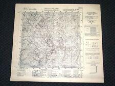 Grande carta topografica Pizzo Filone e dintorni Dettagliatissima I.G.M.