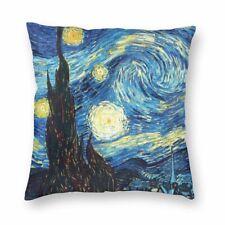 Van Gogh Style. Starry Night Cushion Home Decor Sofa Bed Throw Pillowcase