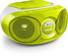 Philips Az215g/12 Cd-player Radio UKW grün