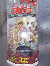 KYLIE SYZMANSKI SIGNED PENNY THE WALKING DEAD MCFARLANE W/ PIC SIGNING
