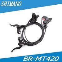 SHIMANO 4-Piston BR-MT420Hydraulic Disc Brake Set F&R MTB 900-1600mm