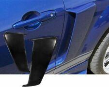 FOR 2005-2009 FORD MUSTANG BLACK SLN URETHANE REAR QUARTER PANEL FENDER SCOOP