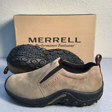 Merrell Jungle Moc Classic Taupe Slip-On Shoe Loafer Hiking Shoes Men's Size 9