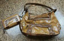 M.C. - Marc Chantal - Handbag & Wallet - Reptil Pattern - Mutli Compartments