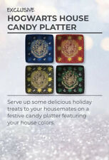 WIZARDING WORLD Harry Potter LOOT CRATE HOGWARTS HOUSE HOLIDAY PLATTER NEW