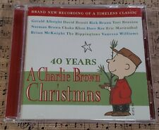 40 Years A Charlie Brown Christmas CD 2005 Pre-Owned Excellent Condition V/A