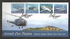 Isole Pitcairn 2009 AEREI FDC SG, 791-794 LOTTO 4371A