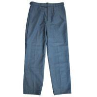 Royal Air Force RAF Mens Trousers Pants British 1972 Pattern Blue Grey