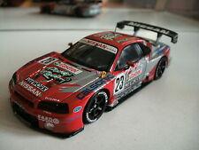 "Ebbro Nissan Skyline GT-R ""Pure Racing"" in Red/Grey on 1:43"
