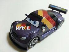 Mattel Disney Pixar Car 2 Max Schnell Diecast Toy Car 1:55 Loose New In Stock *
