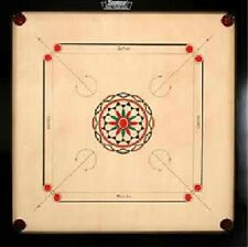 Surco Ellora Carrom Board with Coins and Striker, 8mm - Complete Set