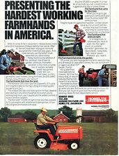 1983 Jacobsen Homelite Textron GT Garden Tractor & Farm Equipment Print Ad