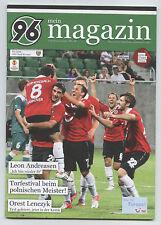 Orig.PRG   Europa League 12/13   HANNOVER 96 - WKS SLASK WROCLAW  !!  RARE