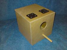 10 x Gouldian Exhibition Finch Nest Boxes Aviary Breeding Bird Nesting Box