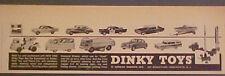 1960 Dinky Diecast Toy Cars~Trucks~Speed Boat~Jaguar~Trailer~Rolls~Taxi AD