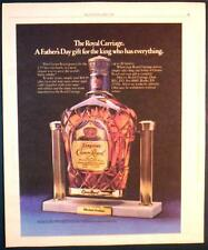 1980 THE ROYAL CARRIAGE FOR SEAGRAM'S CROWN ROYAL AD