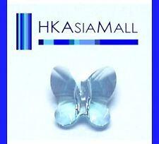 8pcs Swarovski Crystal Beads Butterfly 5754 6mm AQUAMARINE