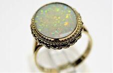 Opalring 585-er Gelbgold Ringgröße 55