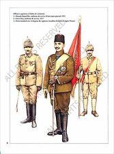 PLANCHE UNIFORM PRINT WWI ARMEE DE TURQUIE TURKEY ARMY Ottoman Empire 1915