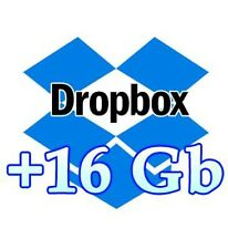 + 16 GB Space Dropbox Upgrade Service Storage Expansion for Lifetime In 4 days