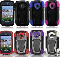 Samsung Galaxy Discover SGH-S730M Phone Cover T-Stand Case + SCREEN PROTECTOR