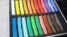Pastell Kreide ♥ 24 Farben ♥ soft pastels ♥ Künstlerkreide ♥ Gouache ♥ Aquarell