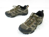 Merrell Moab 2 Trail Shoes Mens 7.5 Brown Suede Ventilator Hiking Sneaker Boots