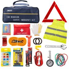Emergency Car Safety Kit Complete Roadside Rescue Assistance Survival Tools Gift