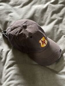 Vintage Abercrombie and Fitch Hat Blue Adjustable A&F Cap Distressed