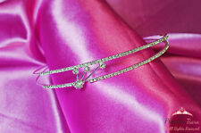 Bridal Bridesmaid Diamante Crystal Rhinestone Pearl Headband Wedding Hairband UK