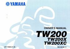 2008 Yamaha TW200X Motorcycle Owners Manual : LIT-11626-21-33