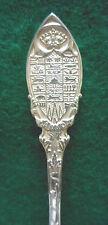 Sterling Souvenir Spoon Canada, Seal on Handle, ca.1910