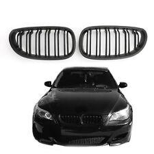 Matte Front Grille de calandre ABS Pour 04-2009 BMW E60 E61 M5 520i 530i Noir AF