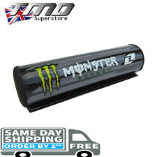 Monster Energy Round Handlebar Bar Pad MX ATV Pit Bike Renthal Cross Pitbike
