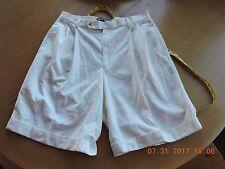 Ralph Lauren Polo Sport women's 100% polyester white short pants size 12