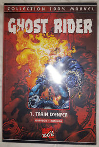 Ghost rider 1 - Train d'enfer - 100% Marvel - 2002 - Comics