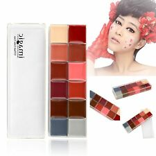 12in1 Flash Professional Color Cosmetic Makeup Case Palette for Eyes Cheeks Lips