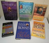SYLVIA BROWNE 6 book lot Psychic Dream Meditation Prophecy Paranormal Future