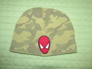 Marvel Spider-Man Camouflage Cold Weather Beanie Style Hat  Boy One Size