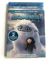 NEW Abominable Blu-Ray & DVD & Digital CANADA BRAND NEW SEALED