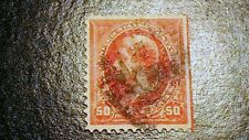 Sc#260 1894 50c JEFFERSON  STAMP VFXF CENTERED CV$275.00    636B3