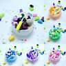 Rainbow Slime Scented Mud Fluffy Fruit Candy Clay Floam Sludge Charm Cloud Toy