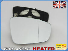VW POLO  2009-2016 Wing Mirror Glass  Aspheric HEATED Right Side /1051