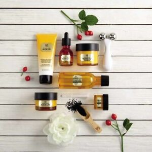 Body Shop ~ OILS OF LIFE™ Radiant Skin Skincare Collection~ 3 Precious Seed Oils