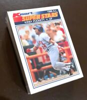 """50) KIRBY PUCKETT Minnesota Twins 1990 Kmart """"SUPER STARS"""" Baseball Card #22 LOT"""